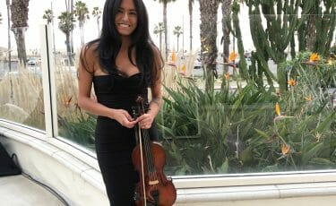 violinist for wedding ceremony