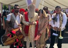 Southern California Indian Wedding Baraat