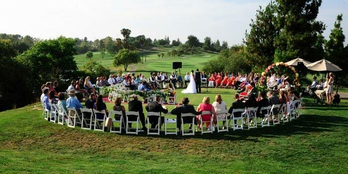 Ceremony Wedding Music at Aliso Viejo Country Club