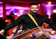 DHOL PLAYER WEDDING