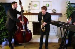 Live Wedding Jazz band (At Last) Sax, Keys, Bass Trio