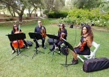 String Quartet Wedding San Diego