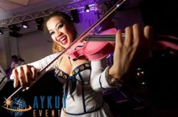 live music entertainment solo violinist
