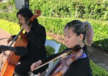 Classical Cello Violin String Duo