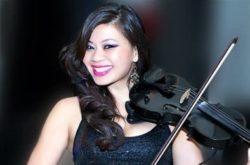 modern female violinist Los Angeles