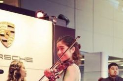 Electric Solo Violinist for Corporate Events
