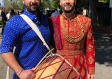 Baraat Band Indian Wedding Dhol Player