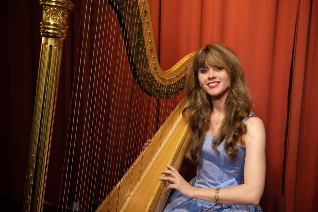 Harp Player Los Angeles