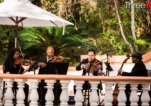 Rancho Las Lomas Wedding with String Quartet