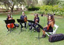 String Quartet Wedding Southern California