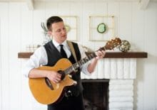 wedding singer guitarist player for hire