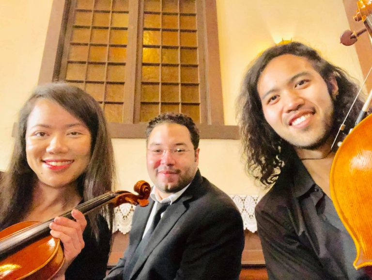 Classical String String Trio