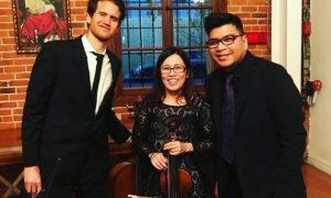 Piano Cello Violin Classical Trio