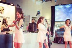 All female Electric String Quartet