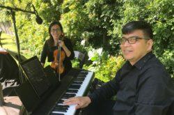 hire piano violin duo