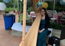 Harp Player Southern California
