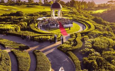 Pelican Hill Wedding Bride