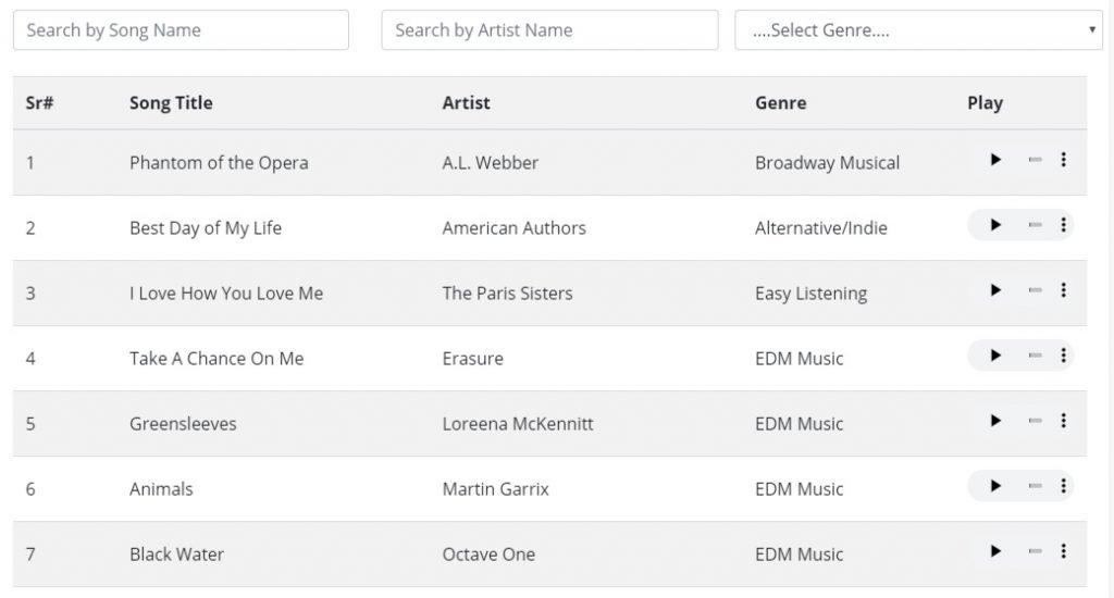 String Repertoire List -OMG
