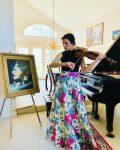 Indian Bollywood Wedding Violinist