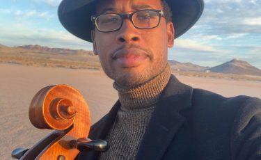Black Cellist Los Angeles