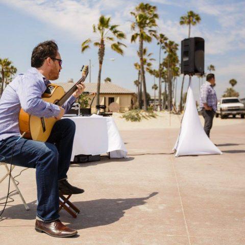Classical Wedding Guitar Player Southern California