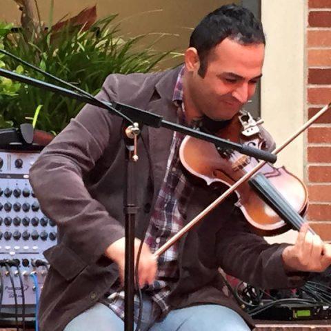 Interactive Wedding Persian Violinist